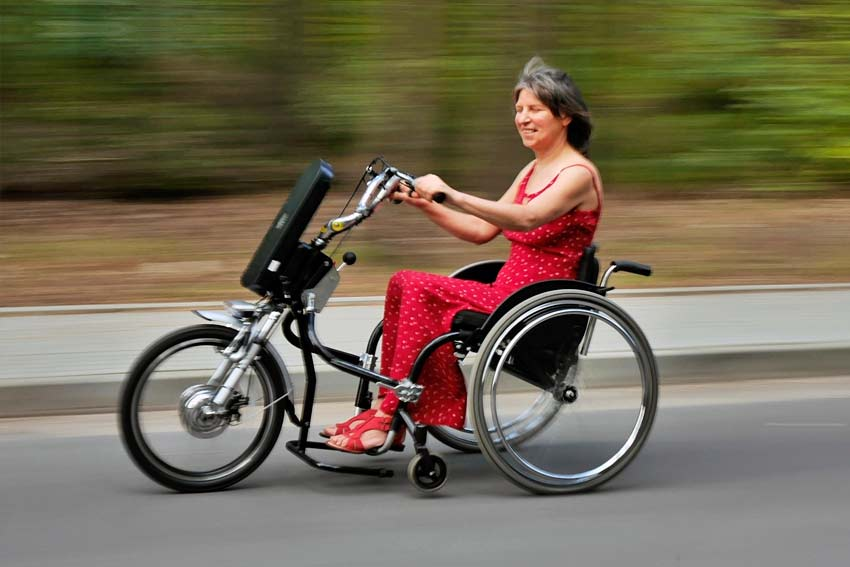 Napędy do wózków inwalidzkich